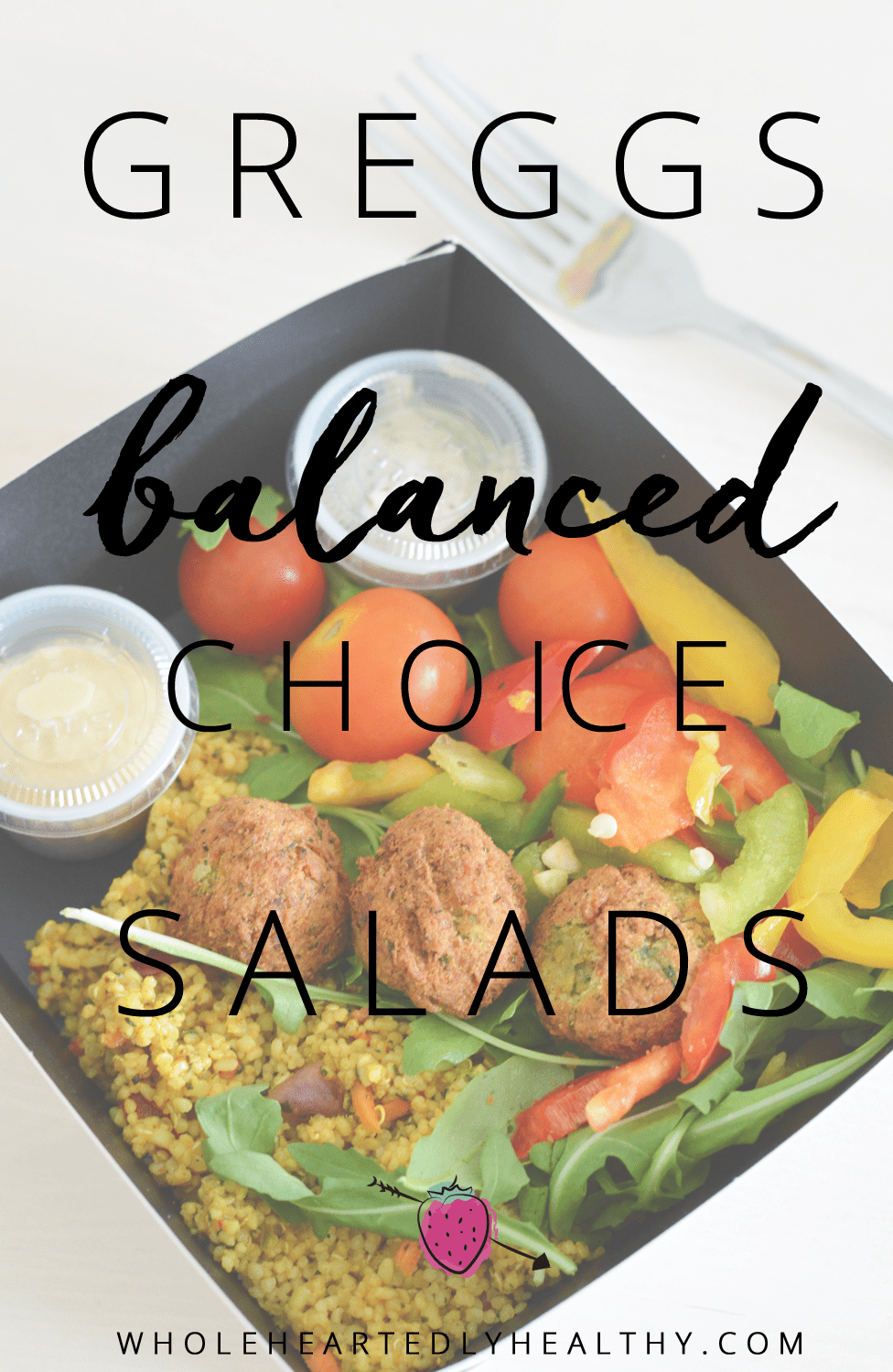 Greggs balanced choice salads