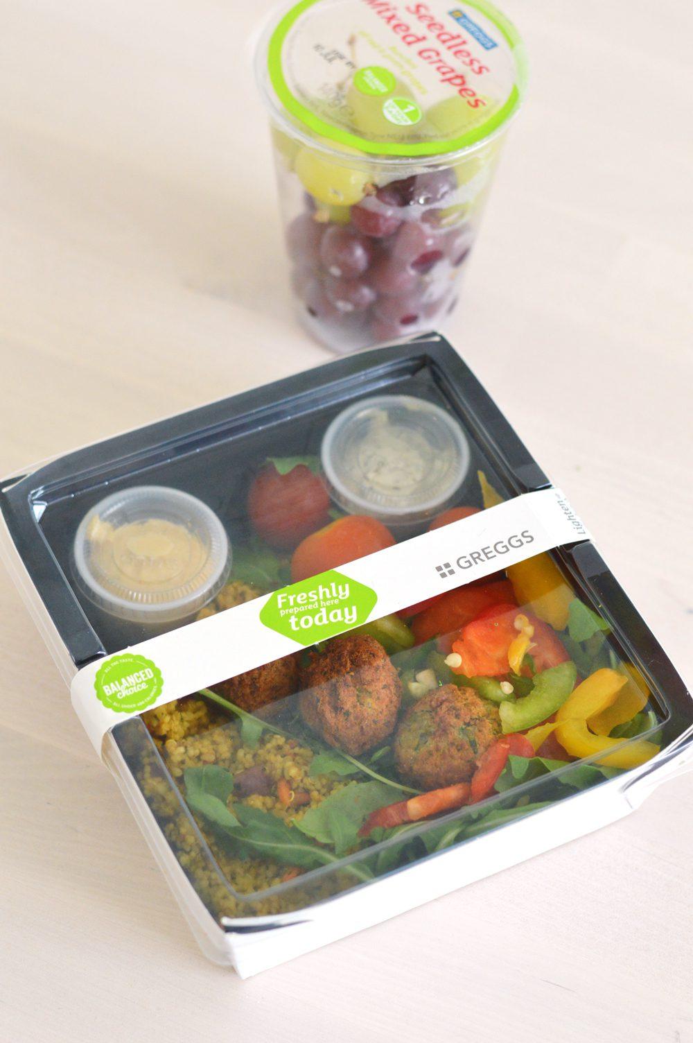 Greggs salad 1