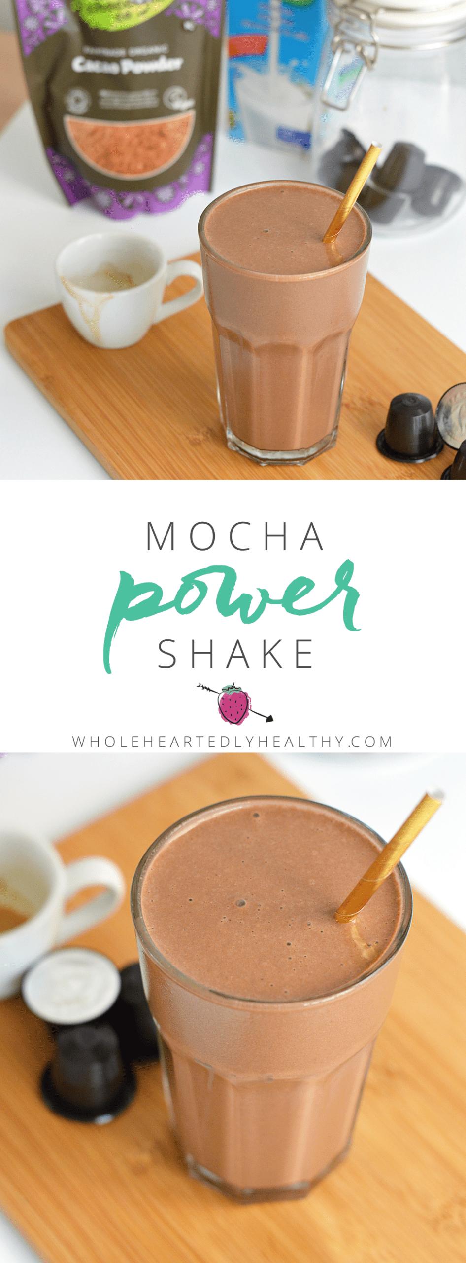 Mocha power shake