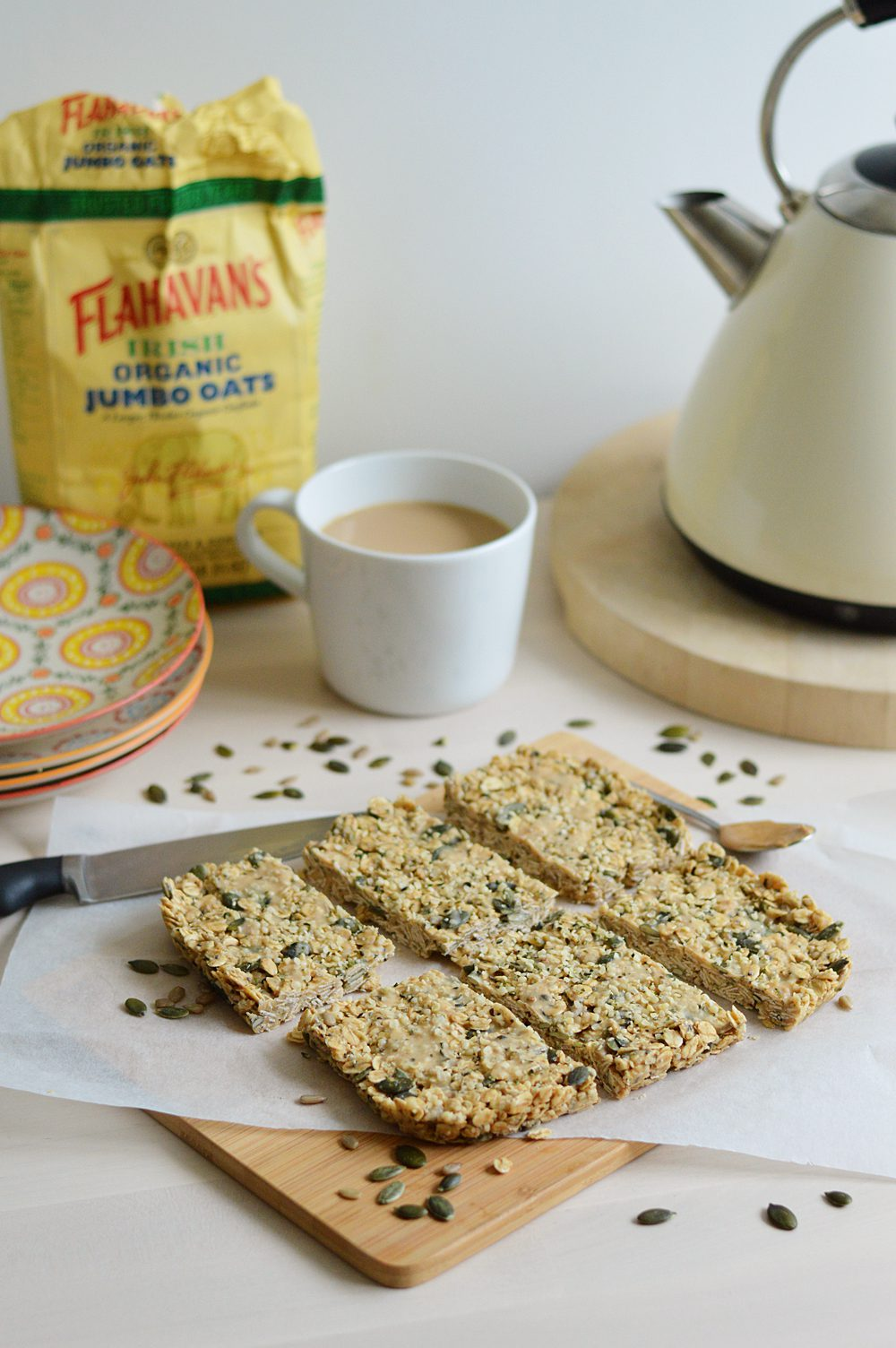 Peanut protein breakfast bars 1