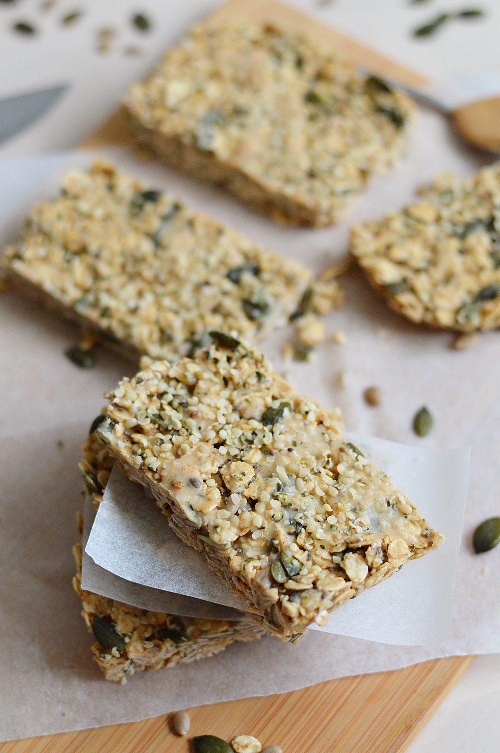 Peanut protein breakfast bars 3