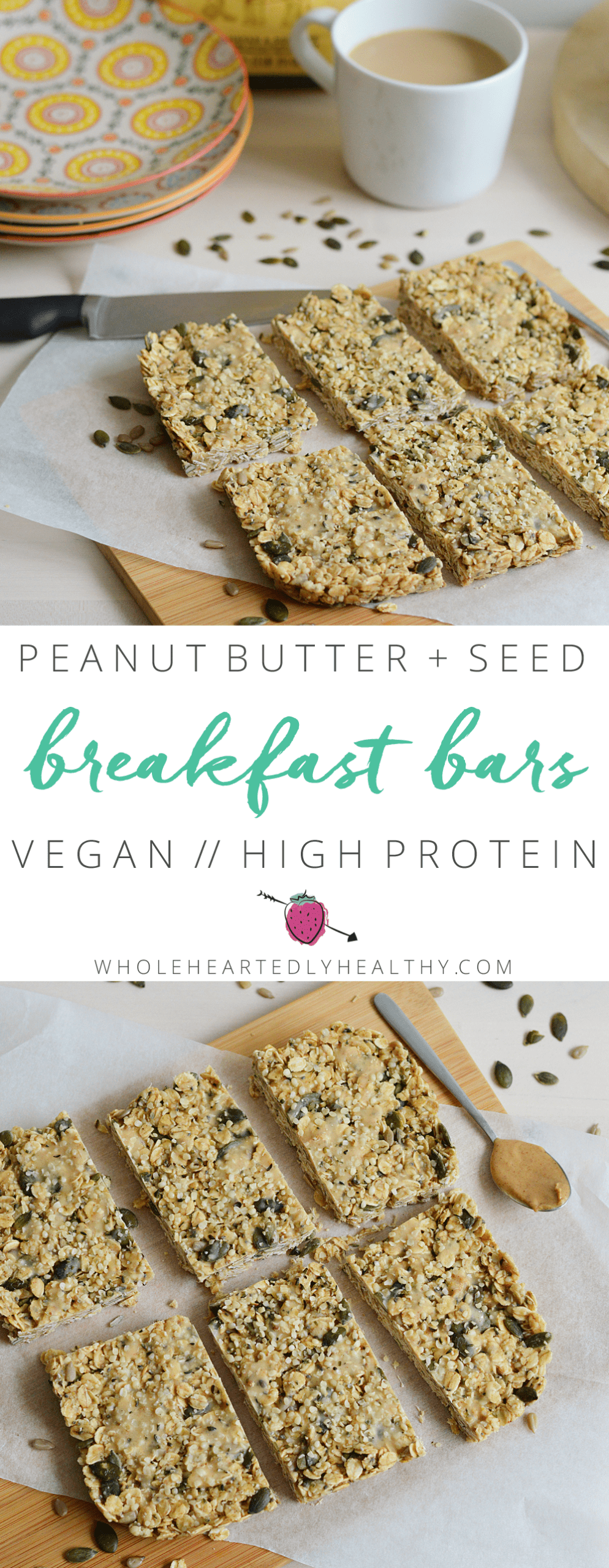 Peanut protein breakfast bars