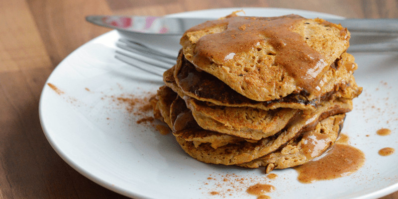 3 Ingredient Sweet Potato Pancakes
