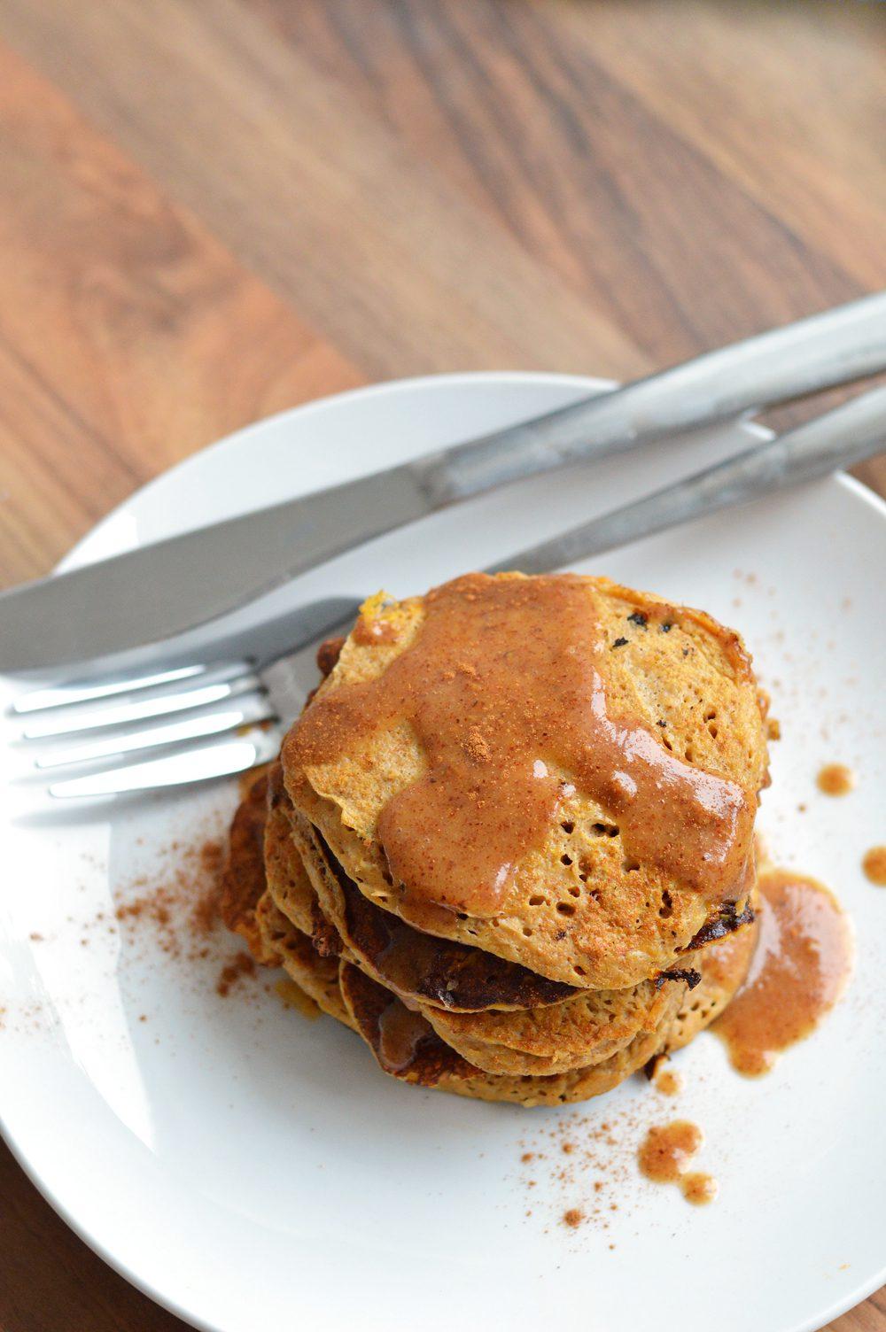 3 ingredient sweet potato pancakes hero