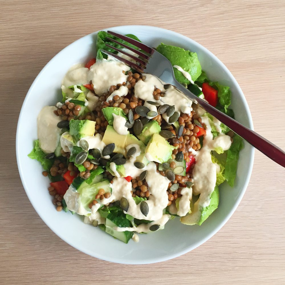 Plant based salads