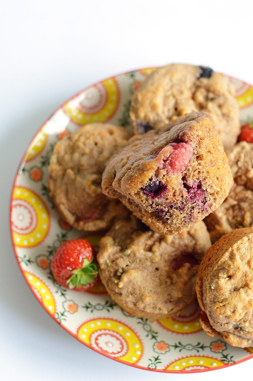 Sprouted wholemeal berry muffins1