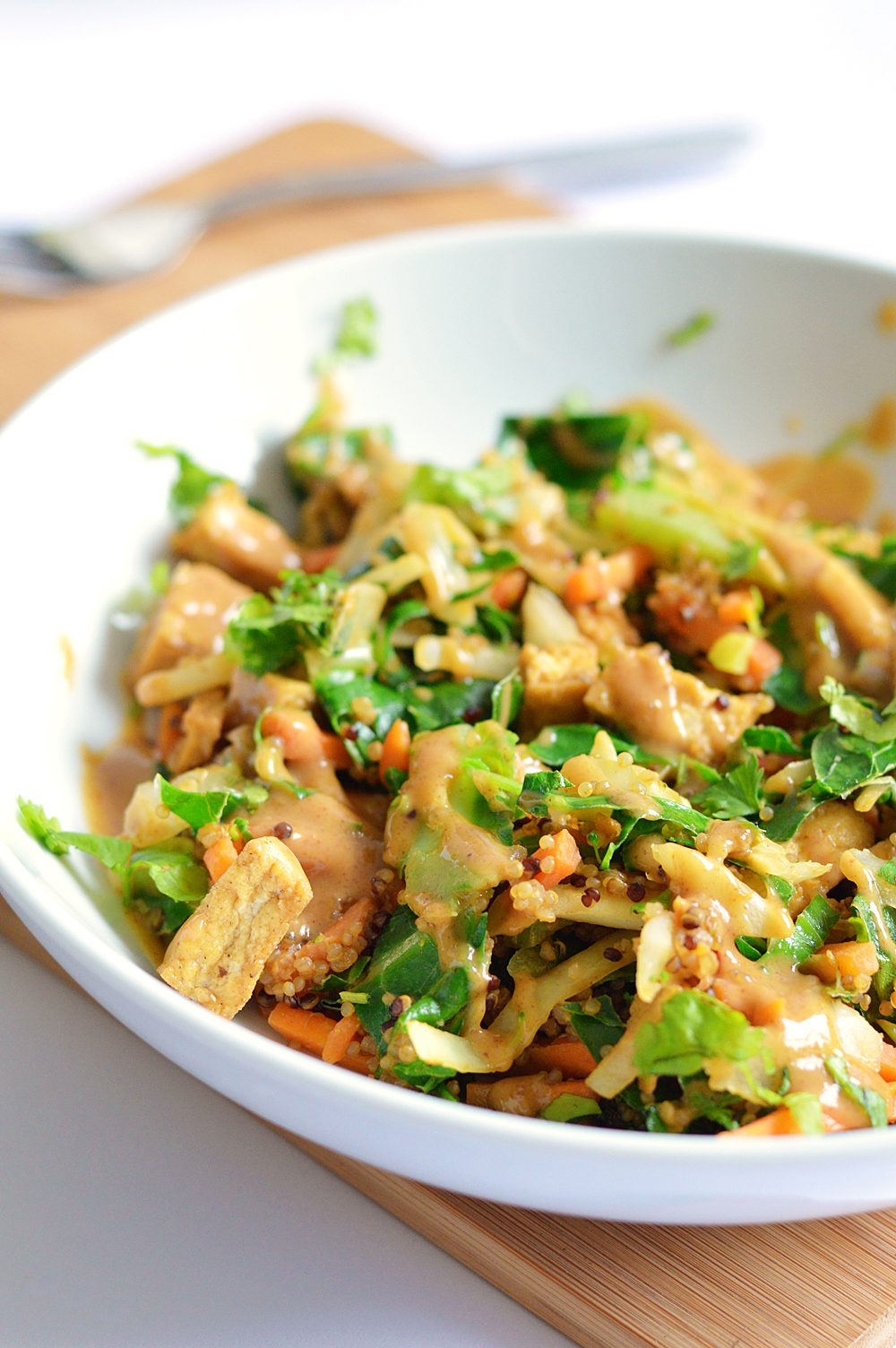 Tofu and peanut stir fry 3