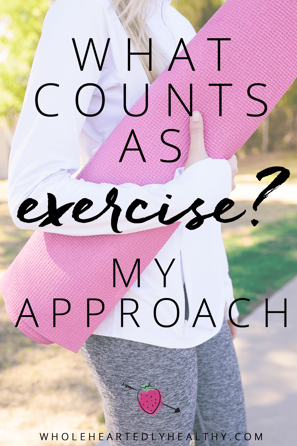 what counts as exercise