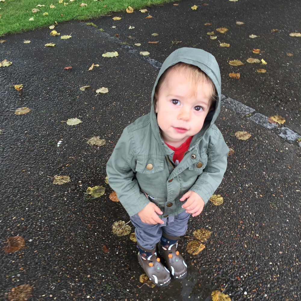 Toddler rainy day