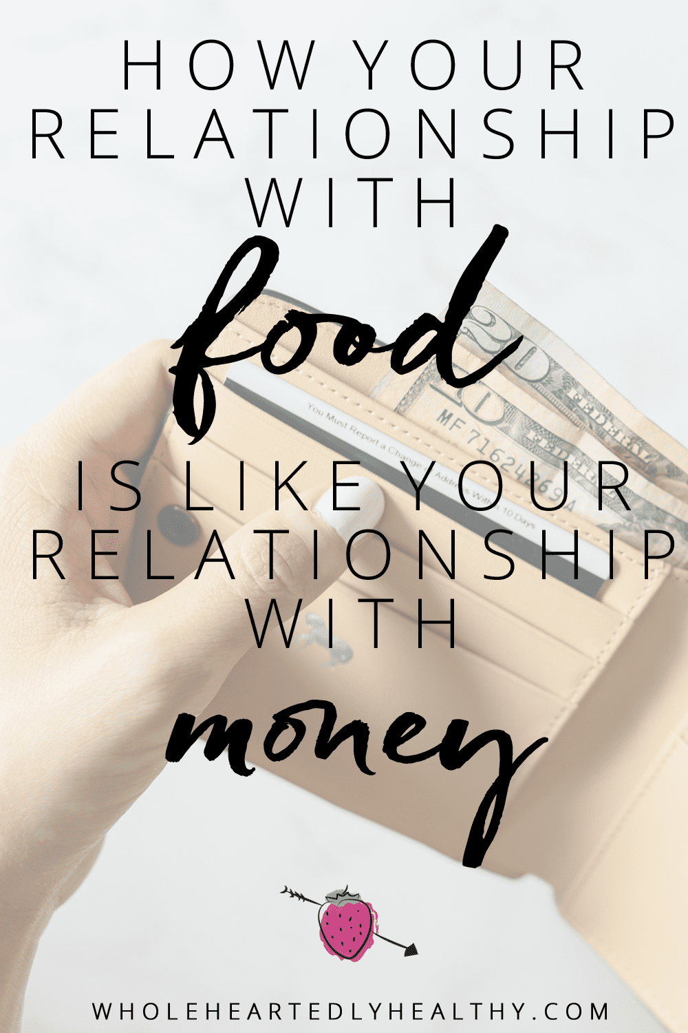 relationships with food and money
