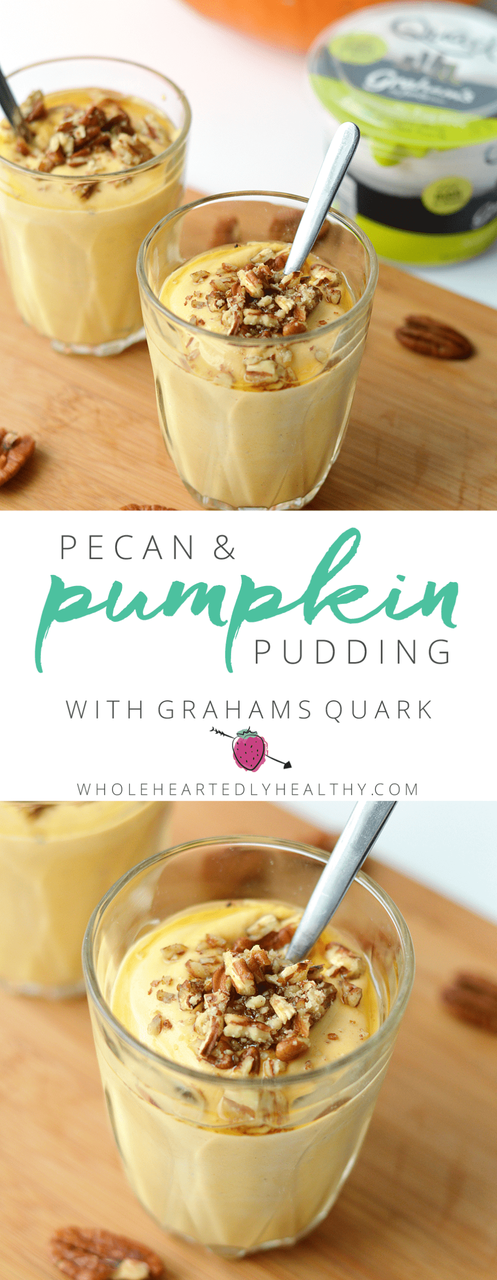 pecan pumpkin pudding
