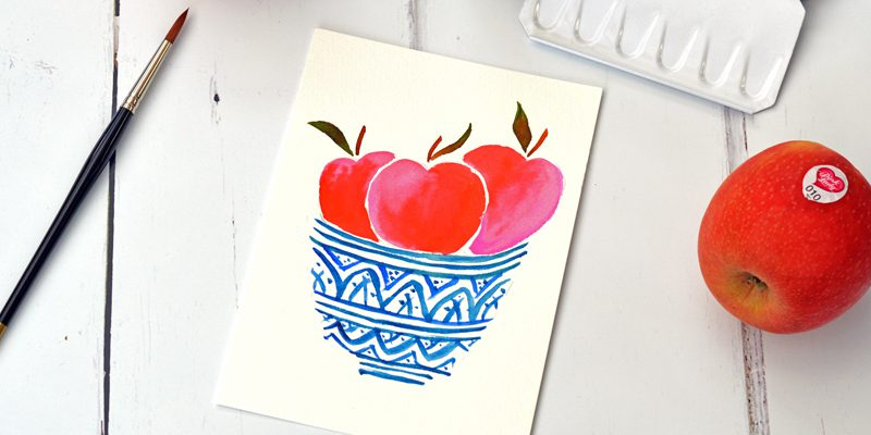 Pink Lady® Apples Pass It On Project – Getting Creative
